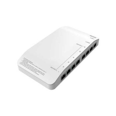 PoE коммутатор для IP систем Hikvision DS-KAD606-N
